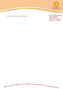 Akademie Briefbogen