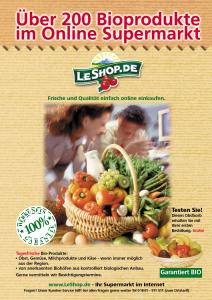 LeShop Leaflet