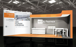 WD & Partner Messestand